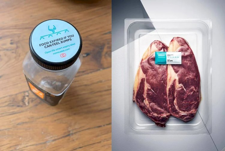 Mimica touch is a label that tells you the real date your food will expire